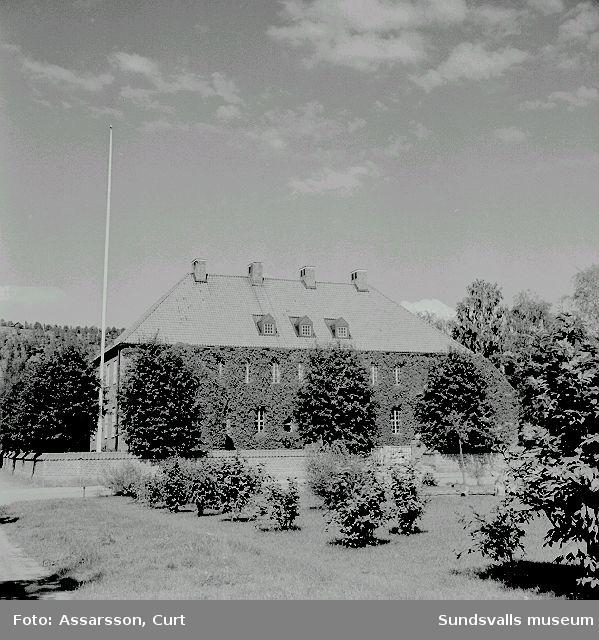Västra domsagas byggnad. Västermalm.  Nuvarande (1999)  Mysak.