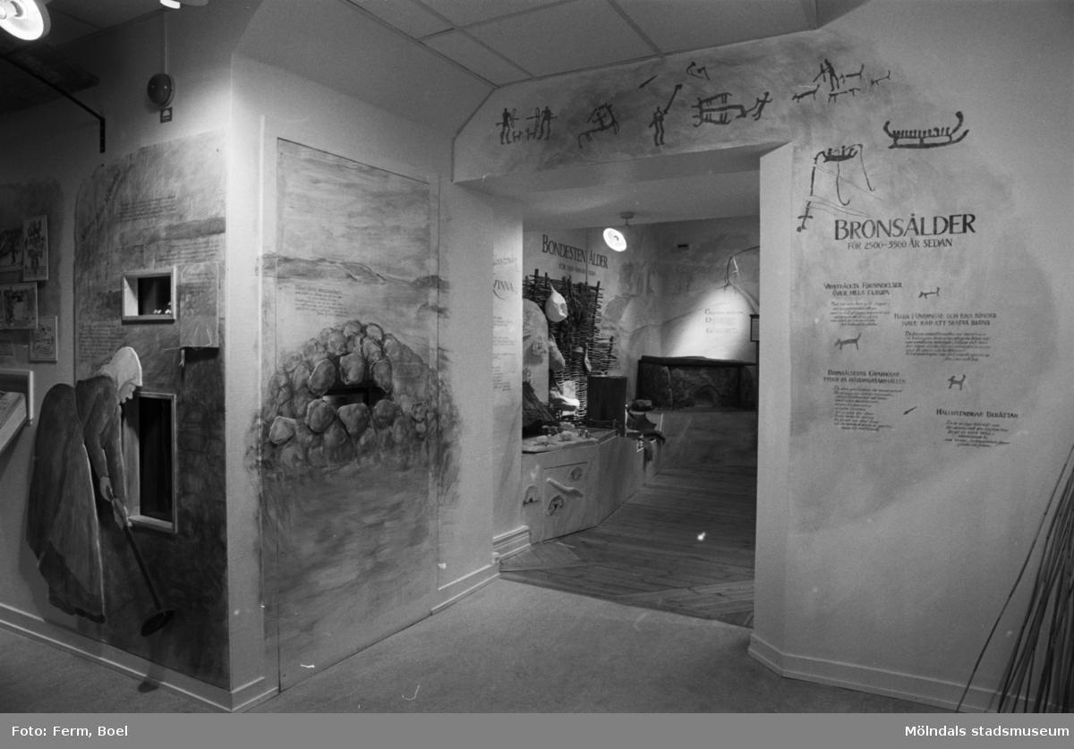 Mölndals museums basutställningar: bronsålder.