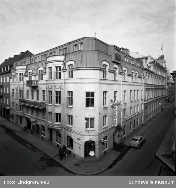 Hotell Knaust. Kyrkogatan 14.