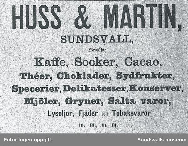 Huss & Martin