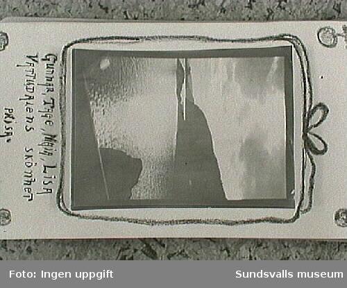 Amatörfotografi från resa till Trondheim sommaren 1915.