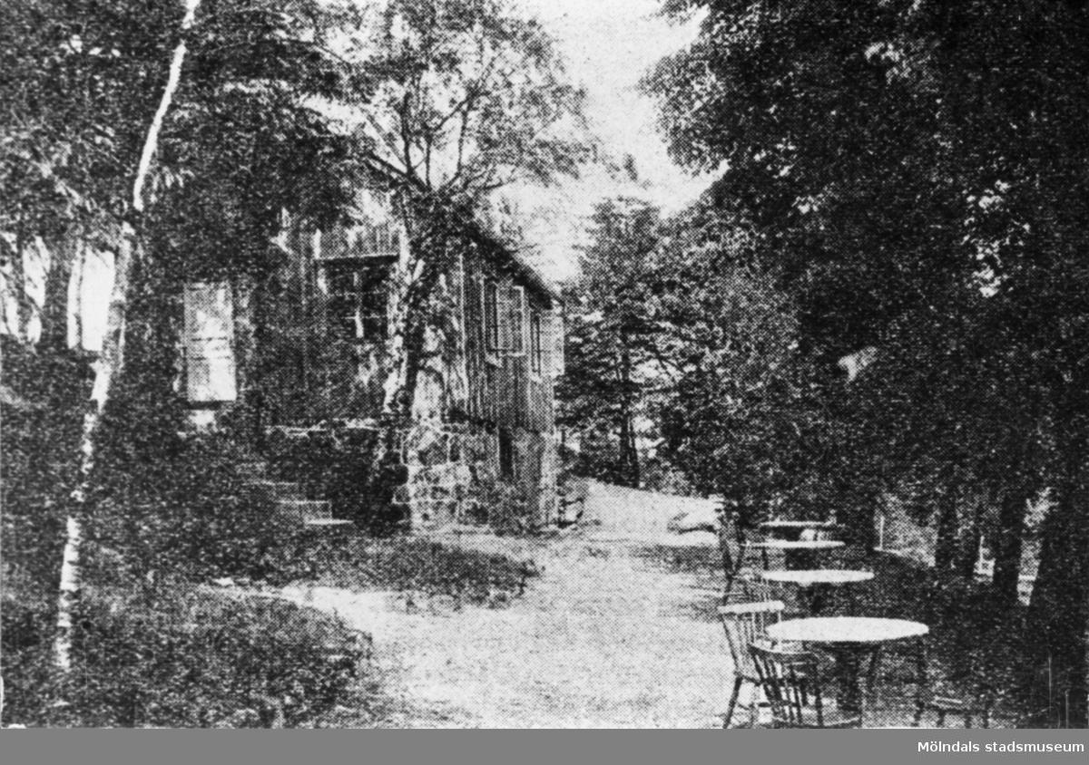 Folkets park i Kikås, 1940-talet.