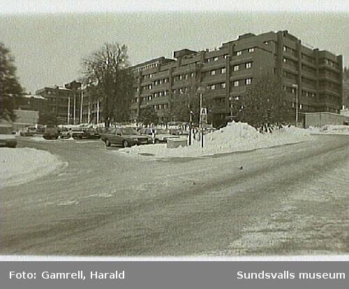 Sundsvalls Kommunhus Som Tidigare Var Sjukhus Sundsvalls