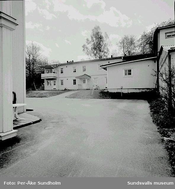 Bostadshus och uthus, kv. Almen 2, Nygatan 19 B - C.