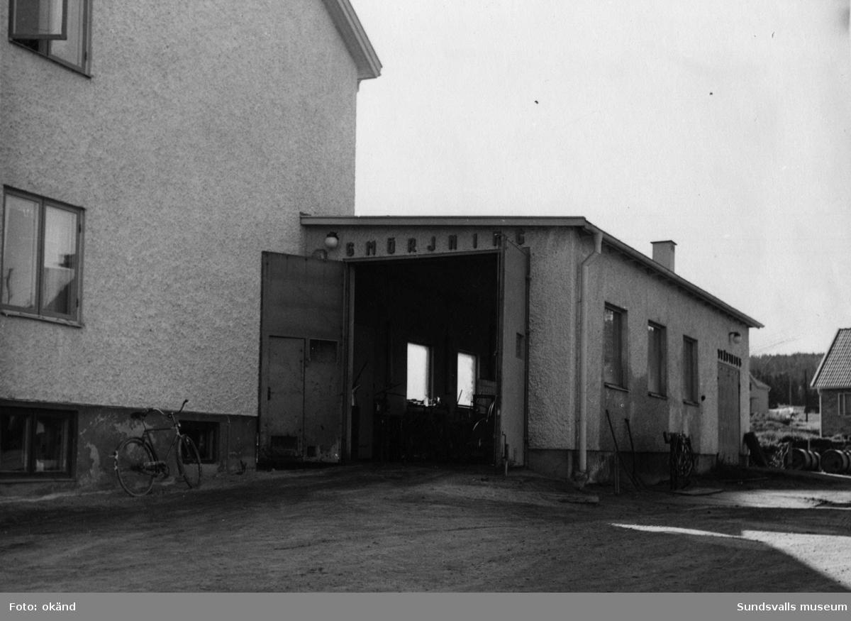 BP-stationen Gullänget, Örnsköldsvik. Köpman: Lars Lindström.