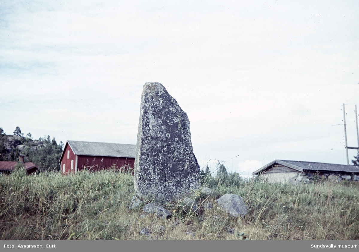 Runstenen i Berga, Njurunda.