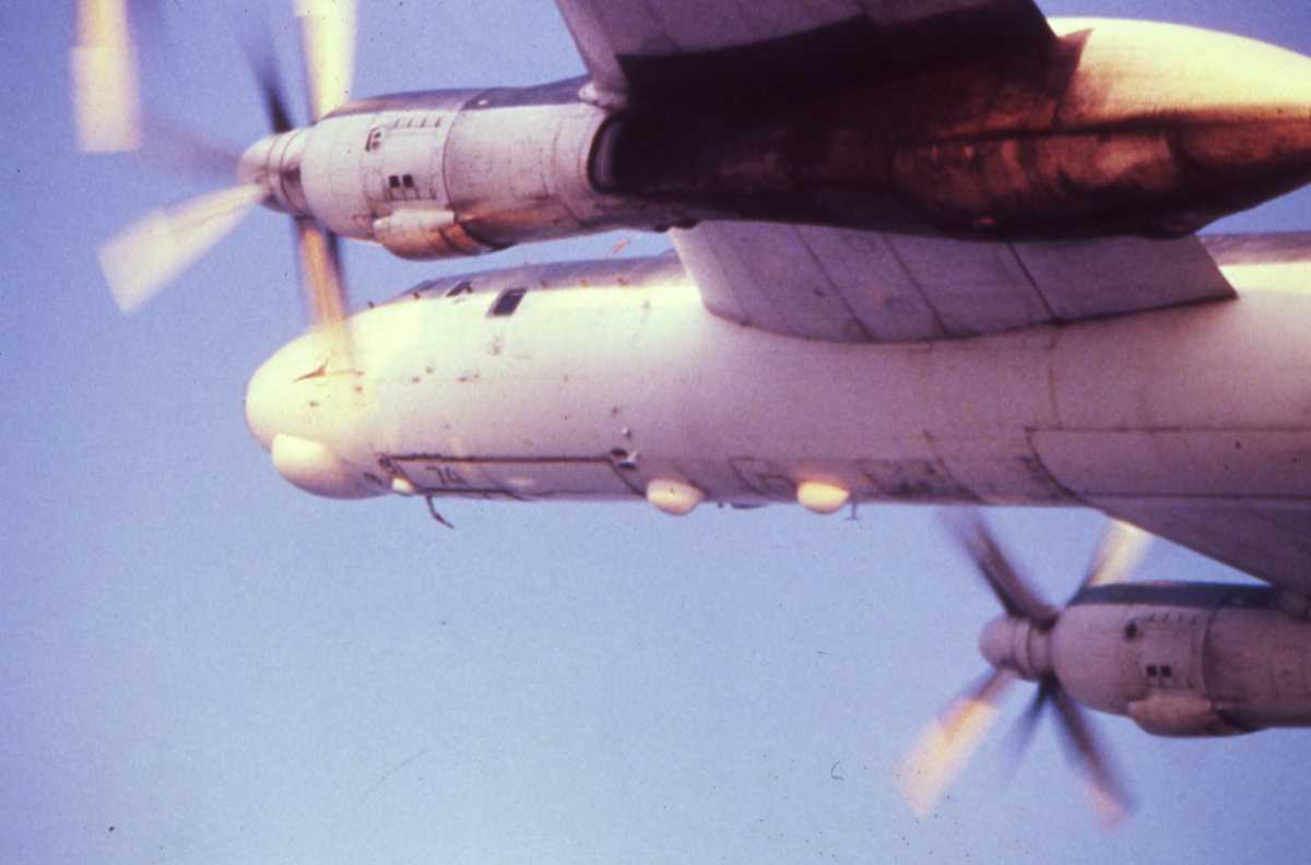 Russisk fly av typen Bear A.