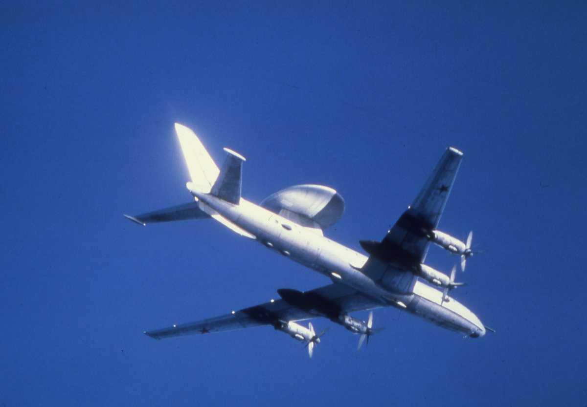 Russisk fly av typen Moss.