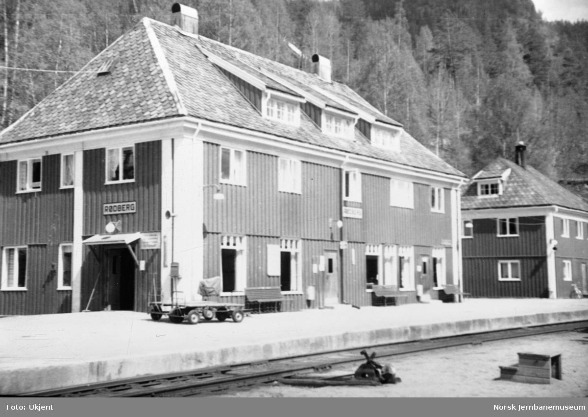 Rødberg stasjonsbygning