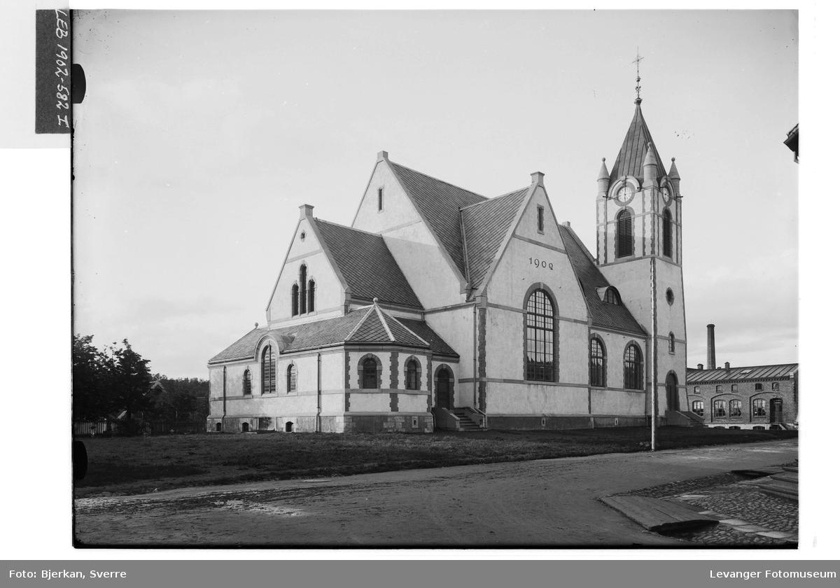 Levanger kirke innviet i 1902