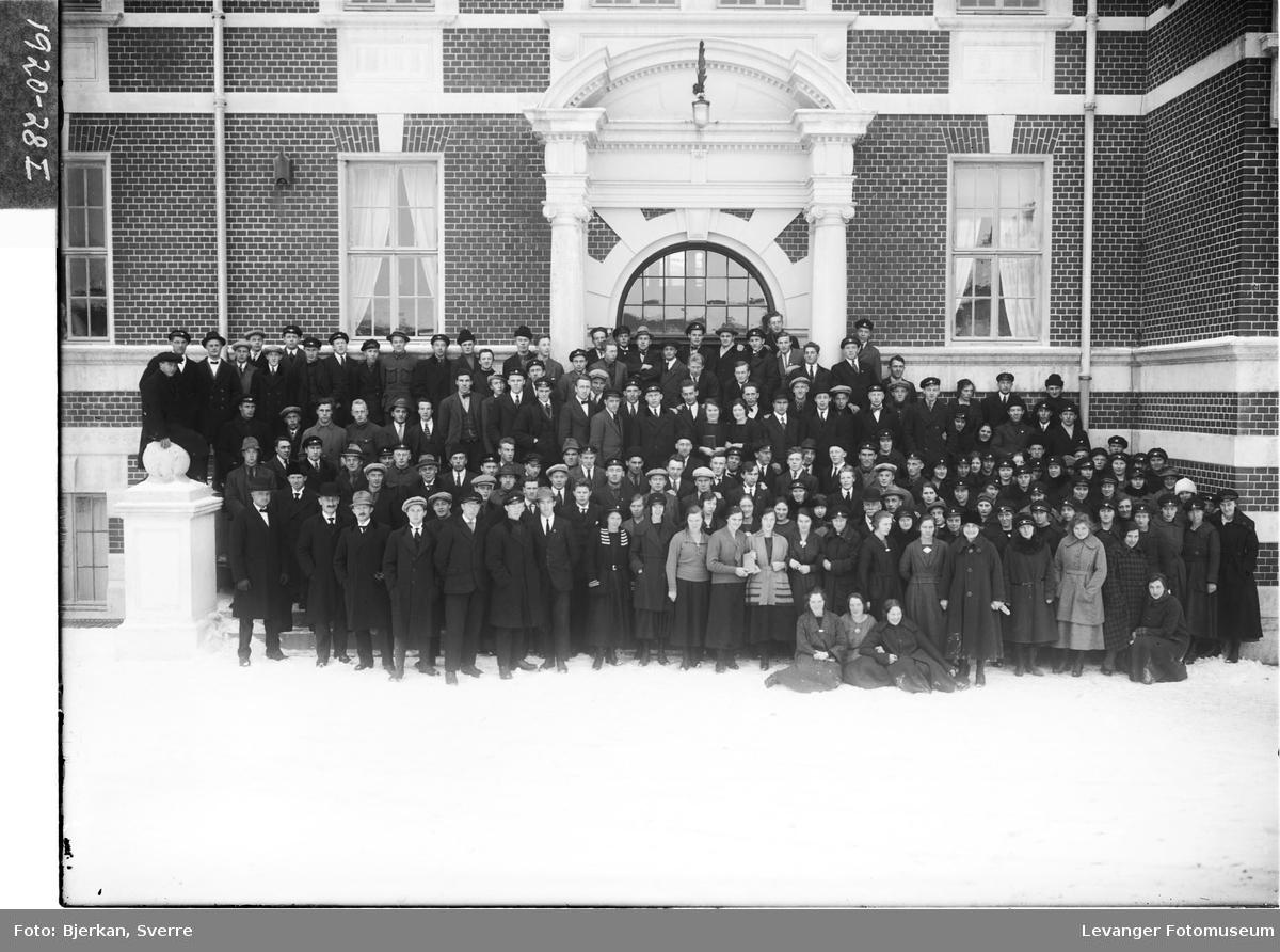 Elevstevne på lærerskolen i Levanger