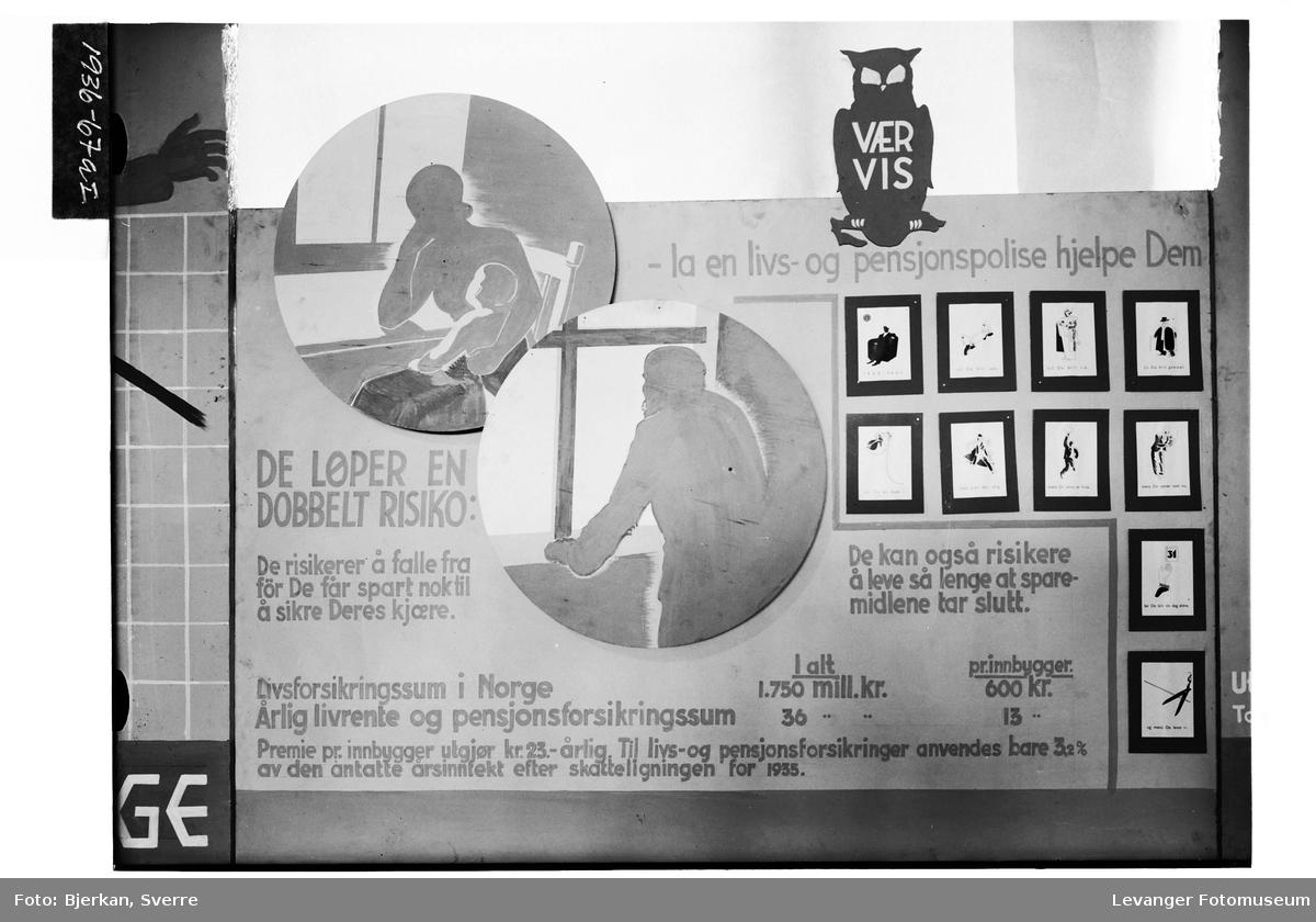 Fra Jubileumsutstillinga i Levanger, 1936 I