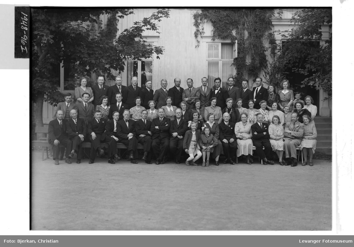 Levanger Lærerskole, 25 års jubilanter med flere, 1948