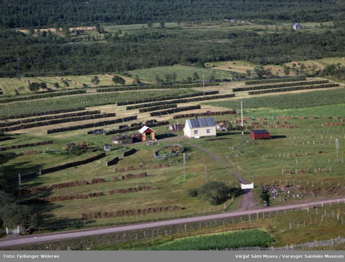 Flyfoto av Gorgŋetak / Gornitak i Unjárgga gielda / Nesseby kommune, 1963.