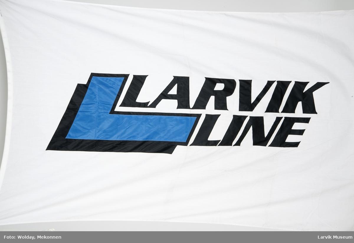 Bedriftsflagg - LARVIK LINE
