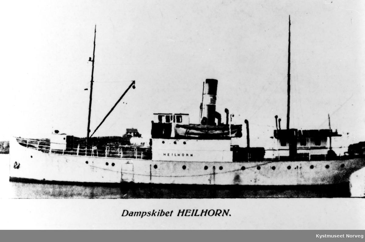 """Brønnøysund, D/S """"Heilhorn"""""""