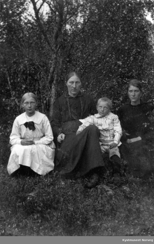 Ukjent mor og barn
