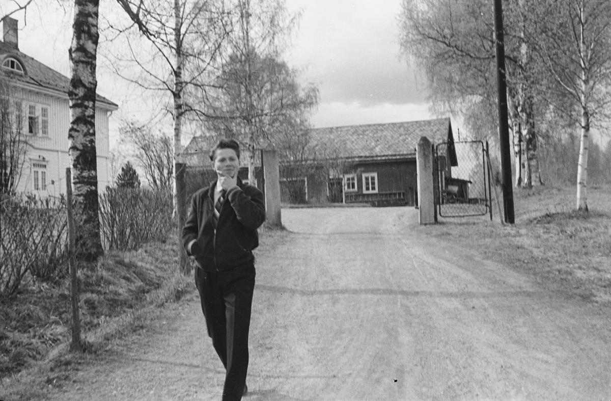 17. mai. Elverum.  Omkring 1950. Misjonshuset.