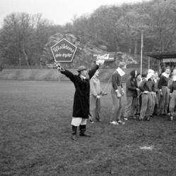 """Enligt notering: """"Gåsafotboll 1/11 -59""""."""