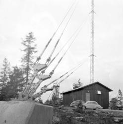 TV-masten på Herrestadsfjället utanför Uddevalla 1 december