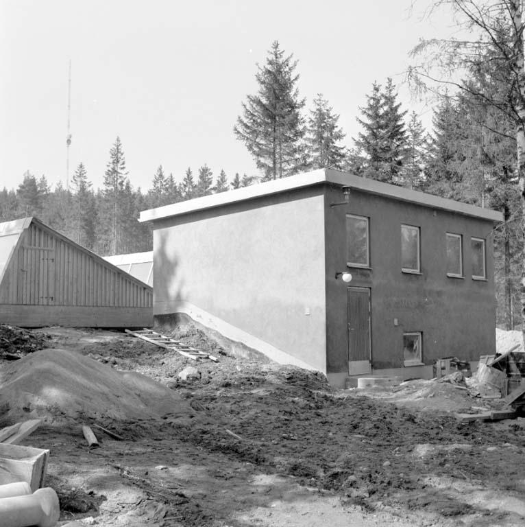"""Enligt notering: """"Vattenverket Smedvattnet 20/4 -60""""."""