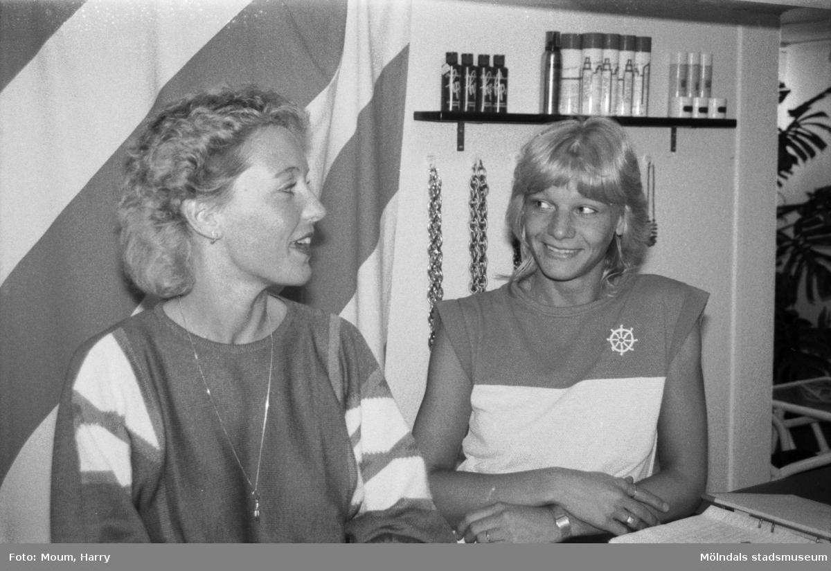 Sun-Center i Kållered, år 1984.  För mer information om bilden se under tilläggsinformation.