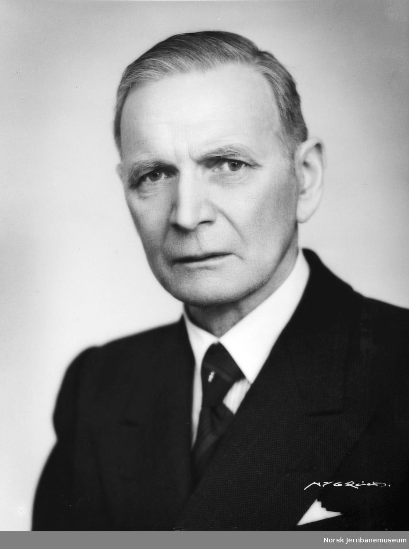 Portrett av distriktssjef Sigurd Berg