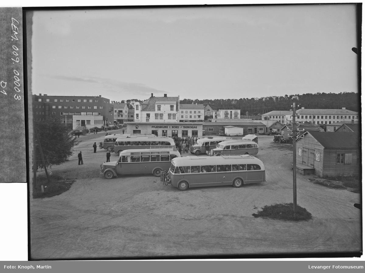 Fylkesbilene i Nord-Trøndelag.