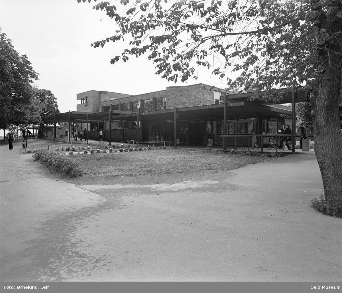 Norsk Sjøfartsmuseum, mennesker