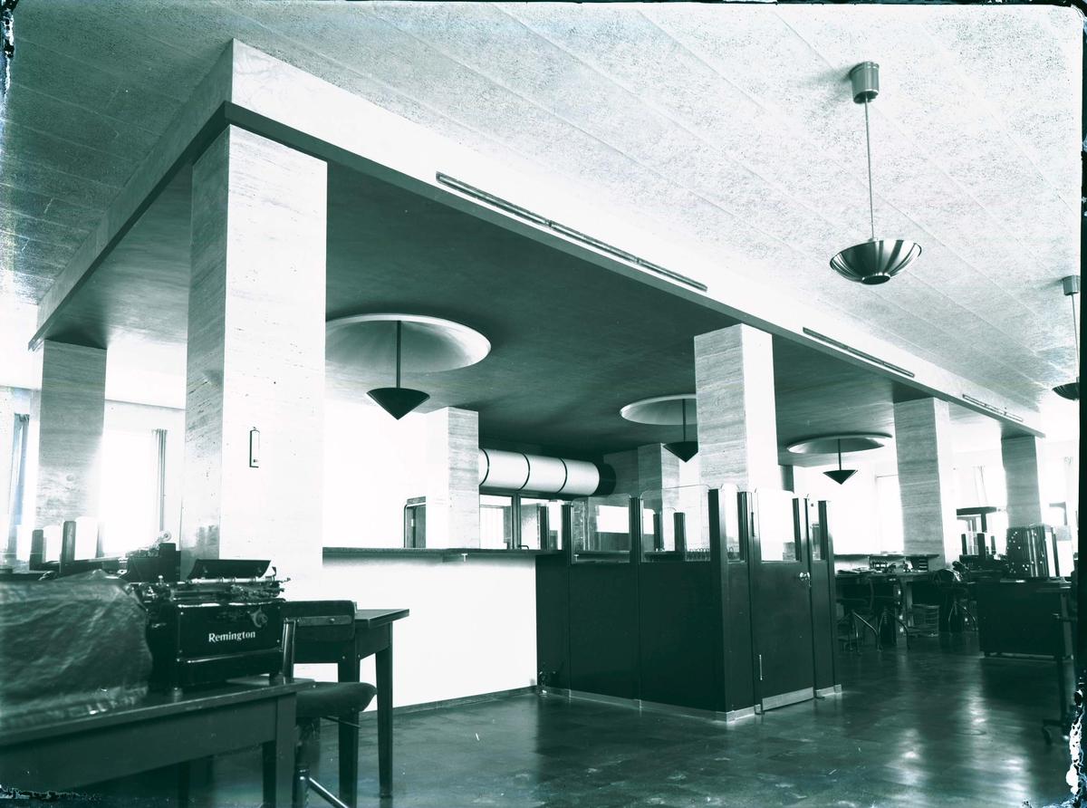 Interiør - Bergens Privatbank.