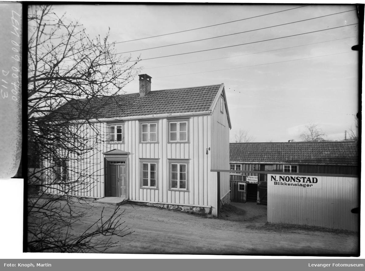 Blikkenslager N. Nonstad, Steinkjer  I