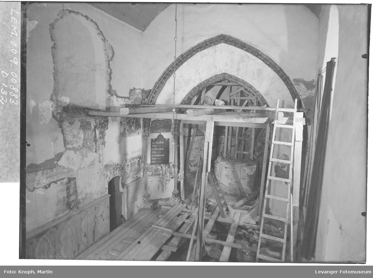 Restaurering av Mære kirke  II