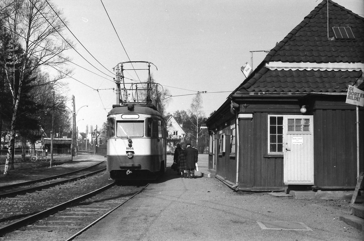 Ekebergbanen, Oslo Sporveier. Vogn 1004.
