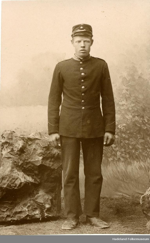 Hans Kristian Andfossen i uniform