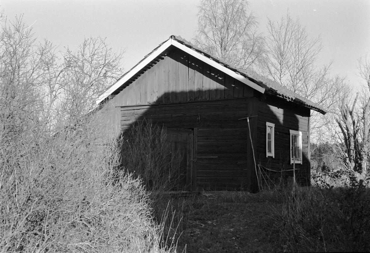 Bod, Skillsta 2:7, Lövhagen, Skogs-Tibble socken, Uppland 1985