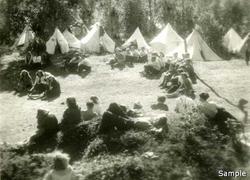 NGU-ere på leir under krigen. Hvor? Når? Melbu eller Hol i