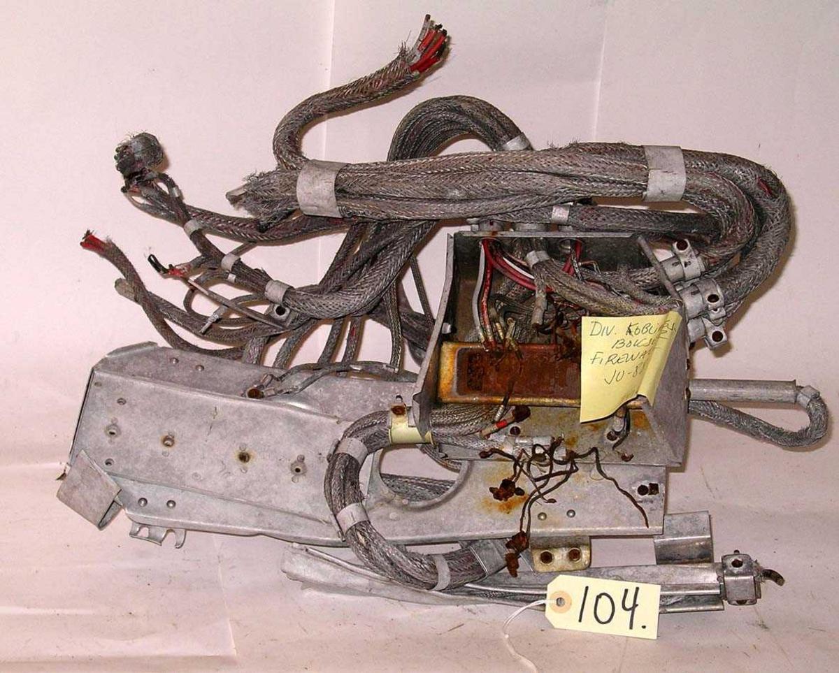Koblingsboks firewall Ju88