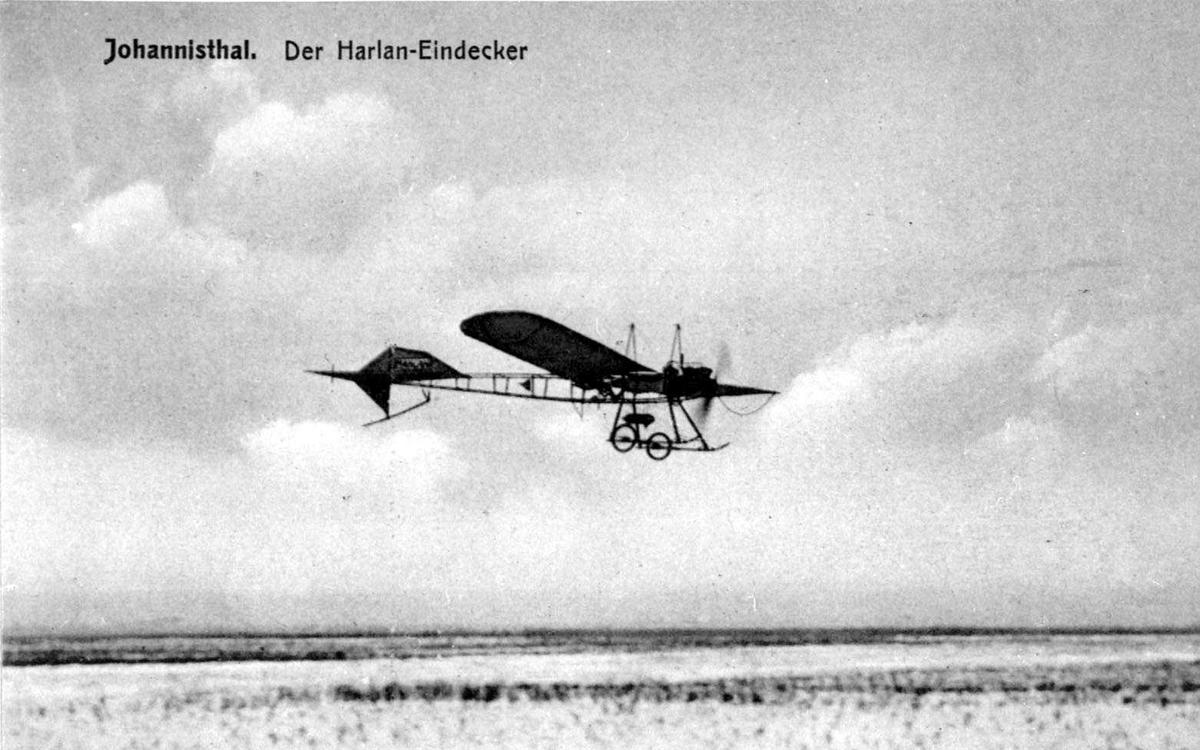 Ett fly i lufta, Harlan