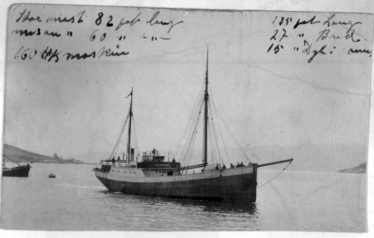 Foto av en seilbåt.