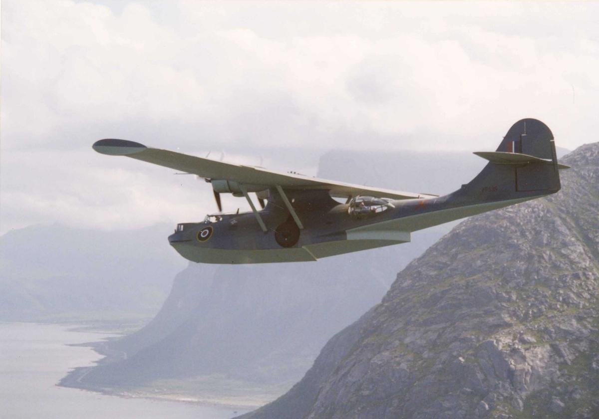 Luftfoto. Catalina. PBY-5A