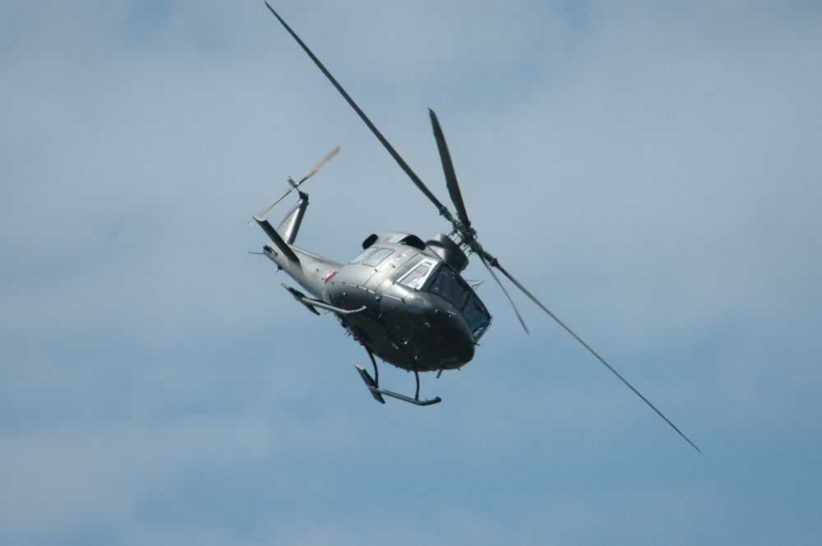 Helikopter Bell 412 i luftenk, fra 339 skvadronen