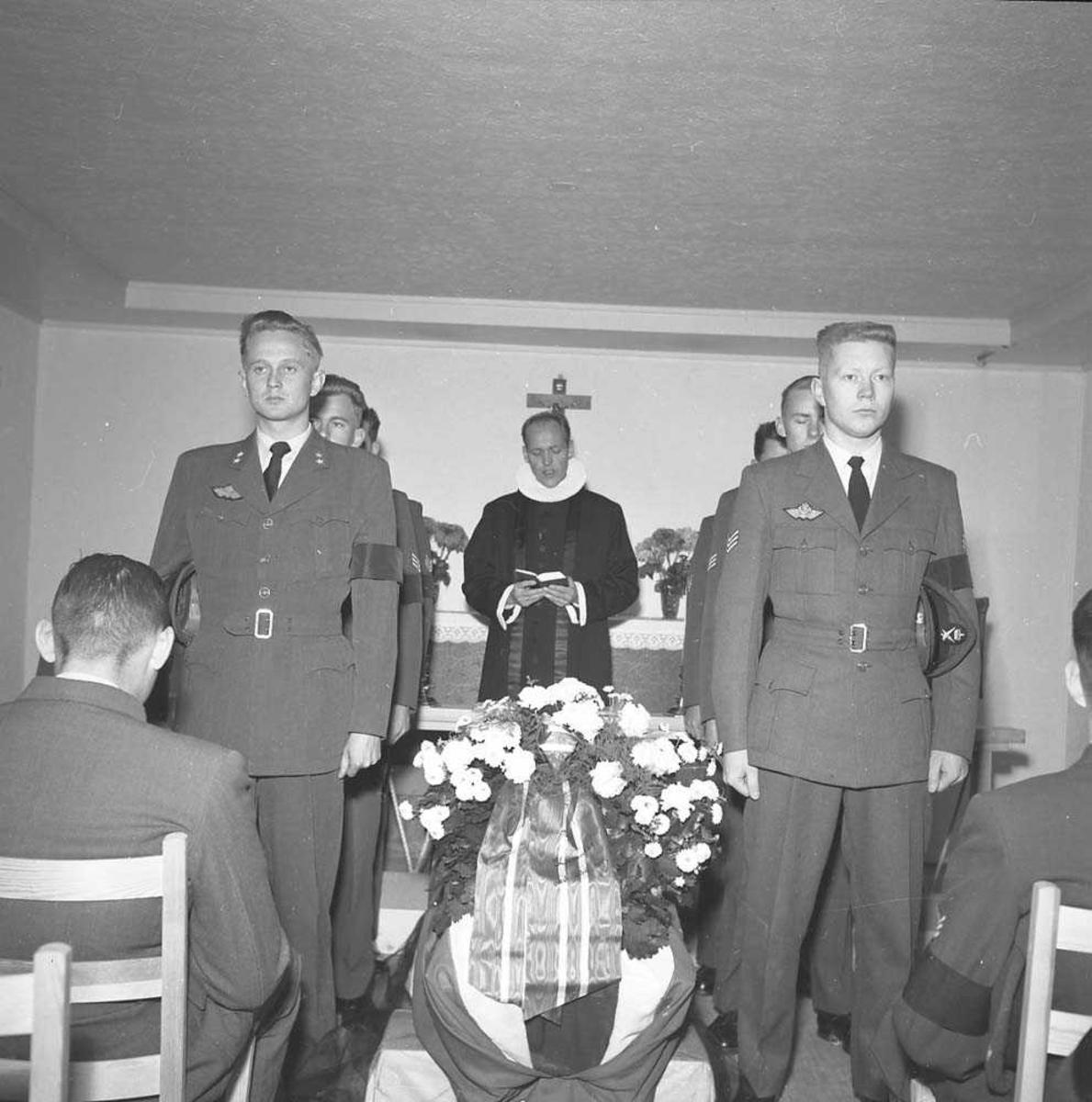 Begravelsen til Sersjant Aasen.