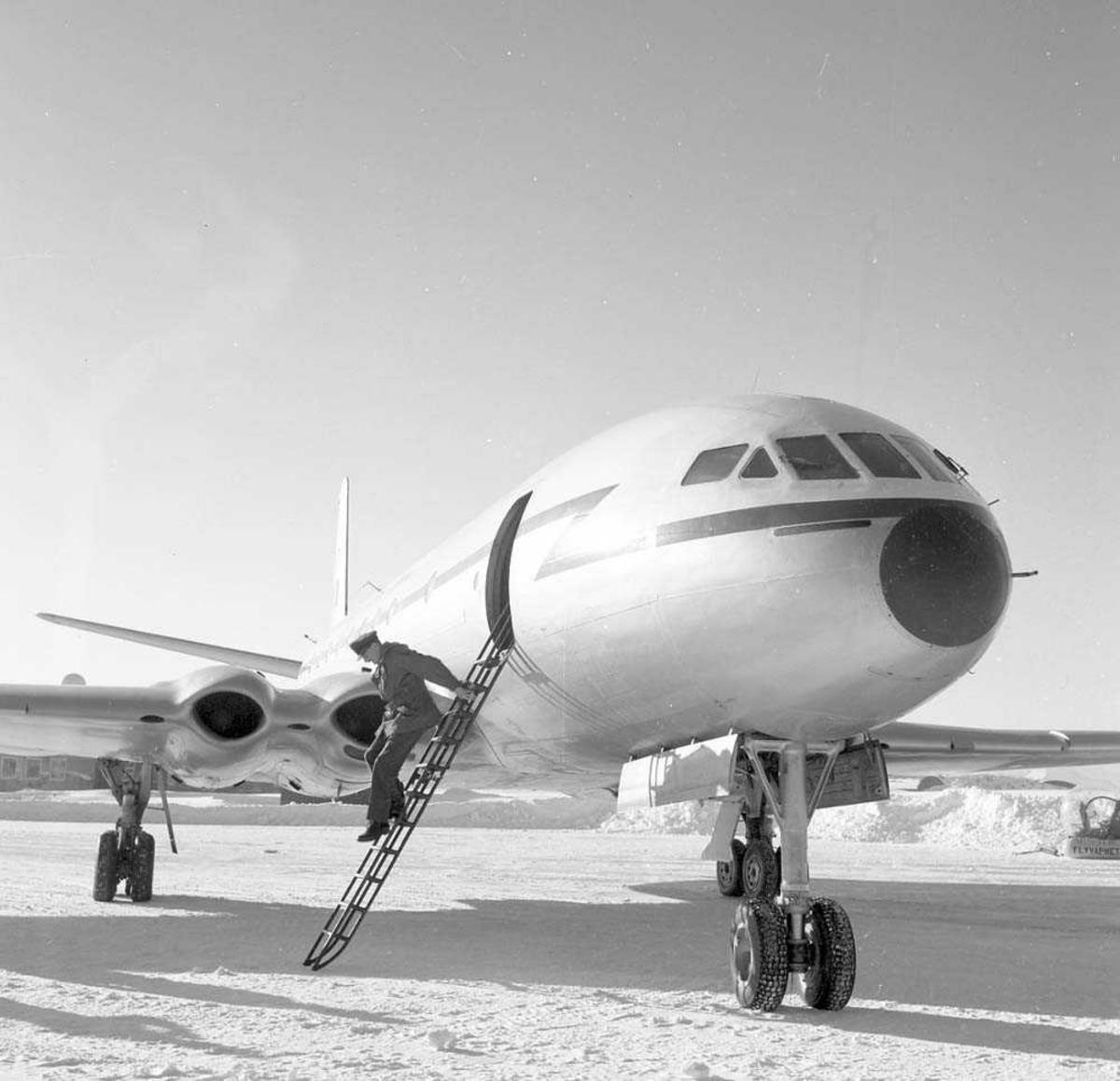 Comet II a på prøvetur til Bodø.