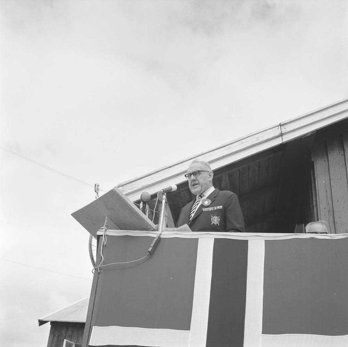 Åpningen av Landsskytterstevnet på Bestemorenga i 1966,