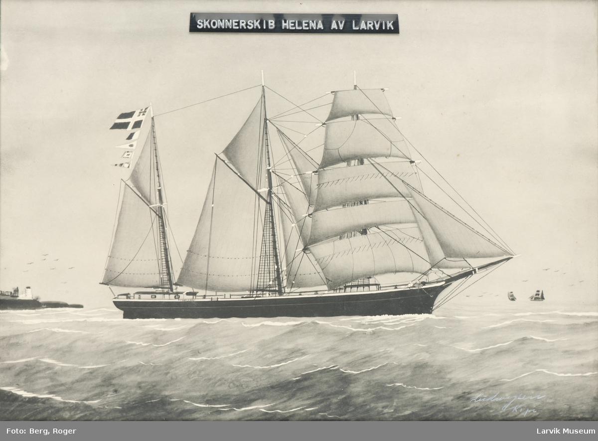 Skonnertskip Helena av Larvik