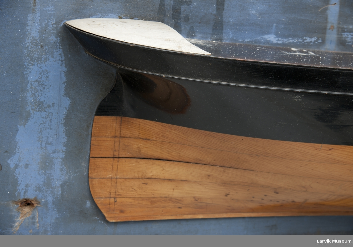 """halvmodell av bark """"Reliance"""" omdøpt til """"Pegasus"""""""