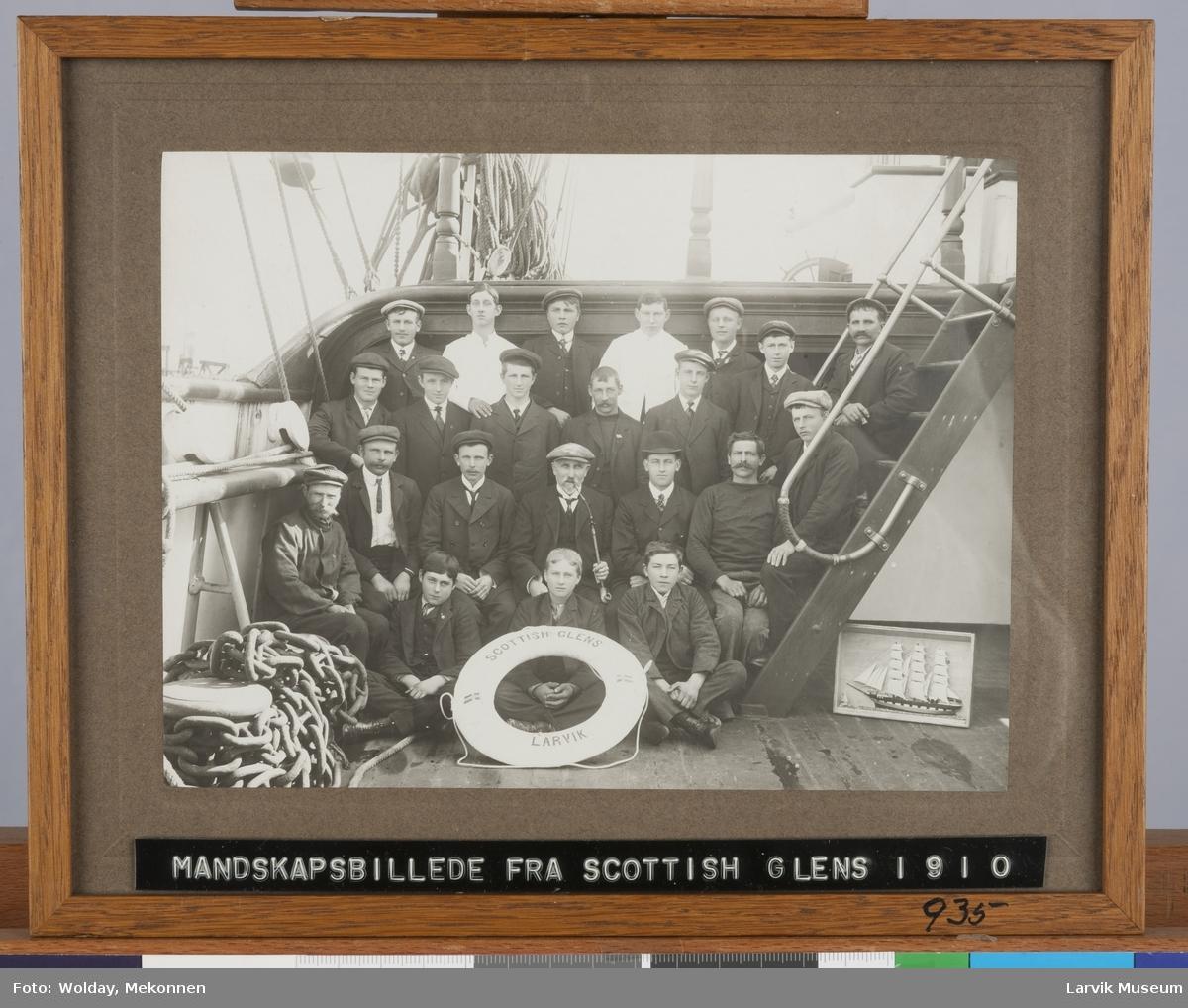 Mannskapet ombord på Scottish Glens