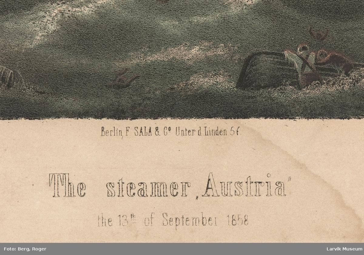 Austria i brann 13. september 1858