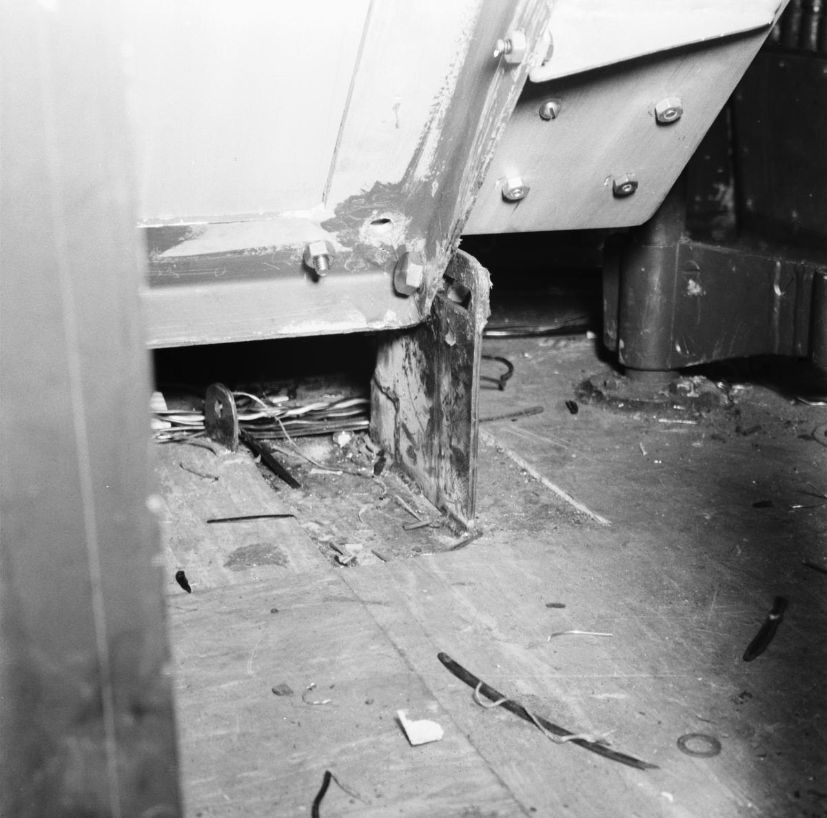 Fartyg: T109 ANTARES                   Bredd över allt 5.8 meter Längd över allt 45.2 meter  Rederi: Kungliga Flottan, Marinen Byggår: 1956 Varv: Lürssen Övrigt: Radar,vågledare och PP1.