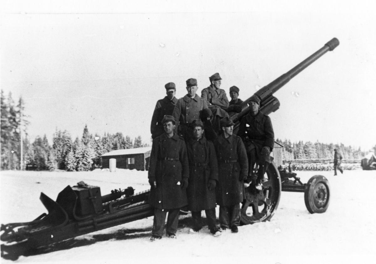 Kanon m/1934. 10,5 cm. Kronheden, A 6.